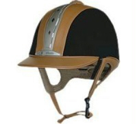 Kask Kavalkade Safety Air karmelowo-czarny