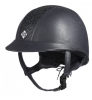 R. 58 Kask Charles Owen Ayr8® Plus Leather Look Navy Sparkle