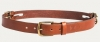 Pasek Noble Outfitters double buckle jasny bąz