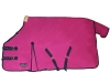 165 HKM paddocks lined with fleece -  pink/navy