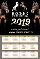 Kalendarz 2019 BeckerSport