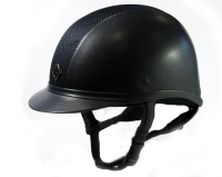 R.55 Navy Kask Charles Owen AYR8 Leather Look