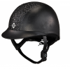 Kask Charles Owen eLumenAyr Leather Look sparkle