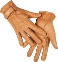 XS Rękawiczki HKM ze skóry Nappa BEŻOWY