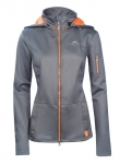 Schockemöhle kurtka Softshell Sophia Grey/Orange L