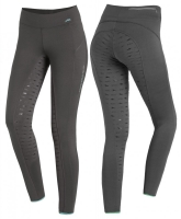 Bryczesy leginsy Summer Riding Tights Dark Grey ...