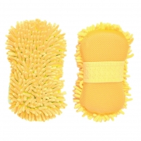 Gąbka duża microfibre Stable Kit yellow