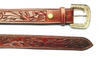 101cm Leather Belt decorated